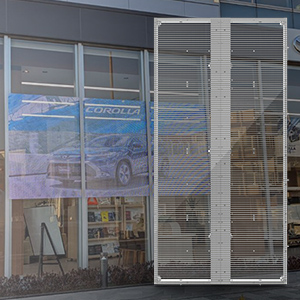 LEDビジョン(透過型)