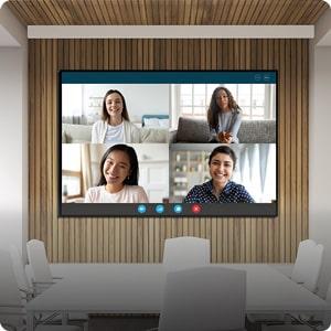 LEDビジョン(会議室用)Cyber TV サイバーテレビ