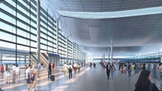 空港や大型公共施設