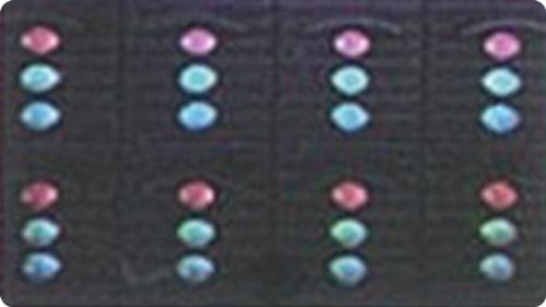 LEDビジョンのDIPサンプル