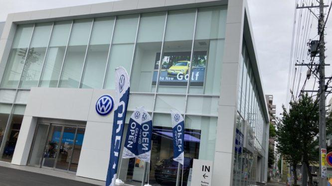 Volkswagen中村様に屋内LEDビジョンを導入致しました。